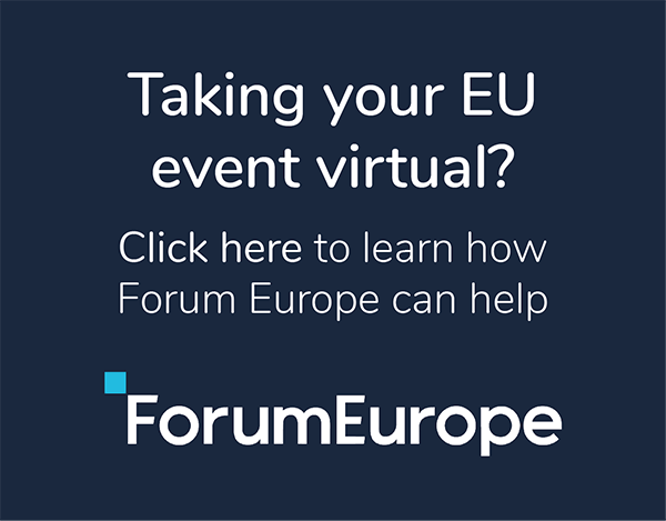 Forum Europe's Virtual EU events